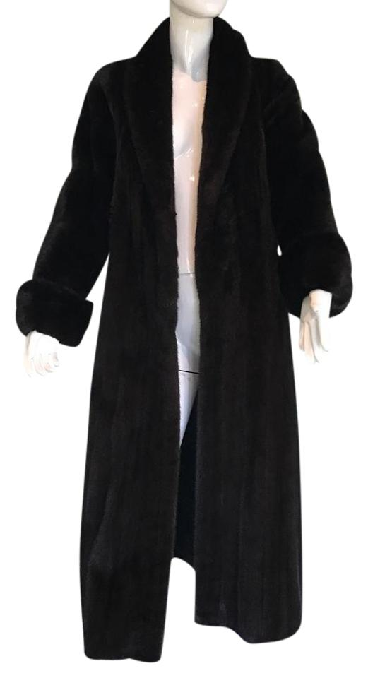 latest style of 2019 unique design browse latest collections Black Female Ranch Mink Coat