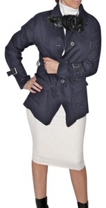 VERA WANG Navy Blue Jacket