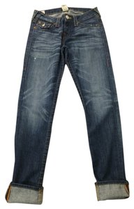 True Religion Boyfriend Cut Jeans-Medium Wash