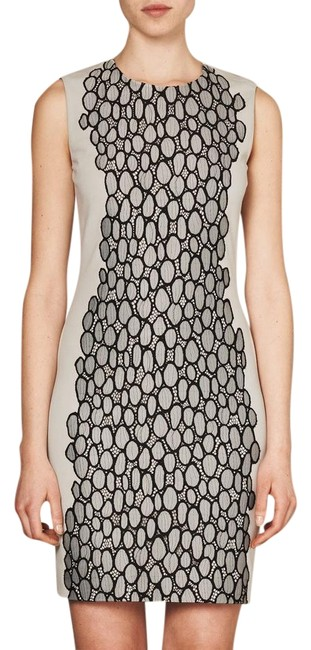 Preload https://img-static.tradesy.com/item/22267322/diane-von-furstenberg-grey-dvf-tilda-light-knit-black-mid-length-cocktail-dress-size-2-xs-0-1-650-650.jpg