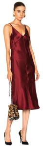 Red Maxi Dress by Helmut Lang Tory Burch Tibi Dvf Rachel Zoe Isabel Marant