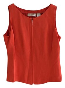 Dana Buchman Top Orange
