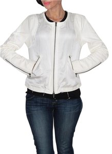 Truth and Pride Cropped White Jacket