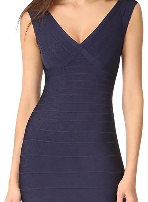 Item - Pacific Blue Sleeveless Mid-length Cocktail Dress Size 2 (XS)