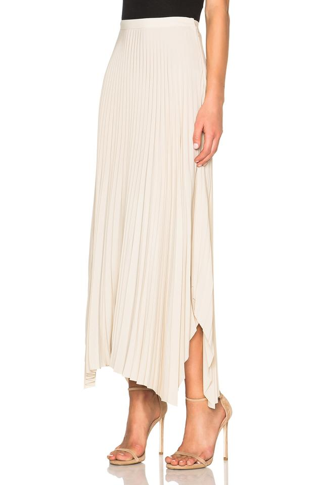7b61a7ee82695 Helmut Lang Nude Pleated Chiffon High Oyster Natural Skirt Size 2 (XS, 26)  - Tradesy