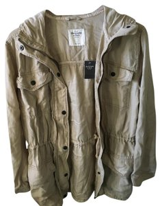 Abercrombie & Fitch Fall Spring Sand/ Light tan Jacket