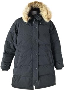 Canada Goose Two-way Zip Storm Placket Duck Down Insulation Genuine Dwr Fur Coat