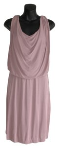 Halston short dress purple on Tradesy
