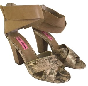 Betsey Johnson Brown Sandals