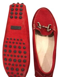 Patricia Green red Flats