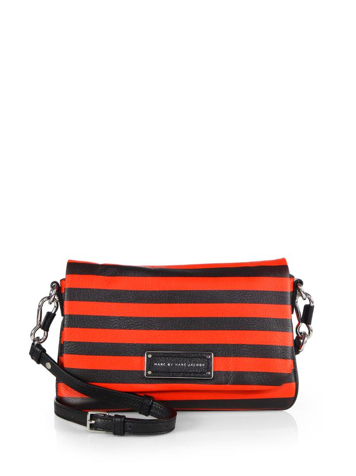 bdb61c5da6b5 Marc by Marc Jacobs Too Hot To Handle Percy Stripe Flap Red and ...