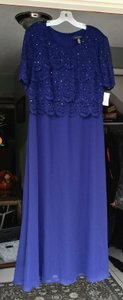 David's Bridal Navy Blue It's On The Tag. Dress