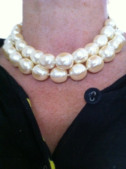 Carolee Carolee faux pearl double strand necklace