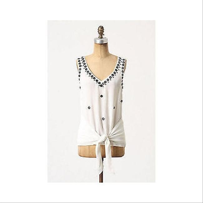 Anthropologie Leifnotes Mirrored Fateful Espejo Shirt Top Whites
