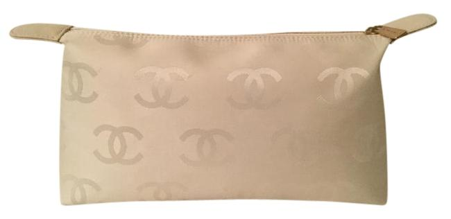 Item - Pouch Ivory Canvas Clutch
