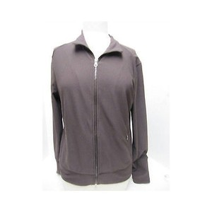 lucy Womens Brown Collared Sweatshirt