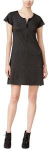 Kensie short dress Charcoal on Tradesy