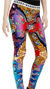 Versus Versace Rainbow Leggings