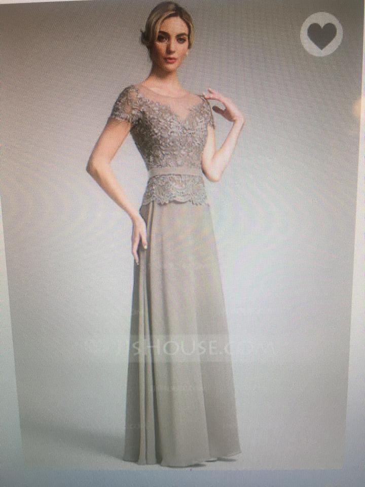 Jj 39 s house taupe 008091955 dress on tradesy for Jj s wedding dresses