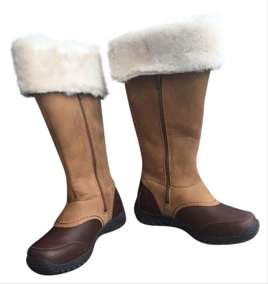 a818f0fa554 Brown Miko Tall Boots/Booties