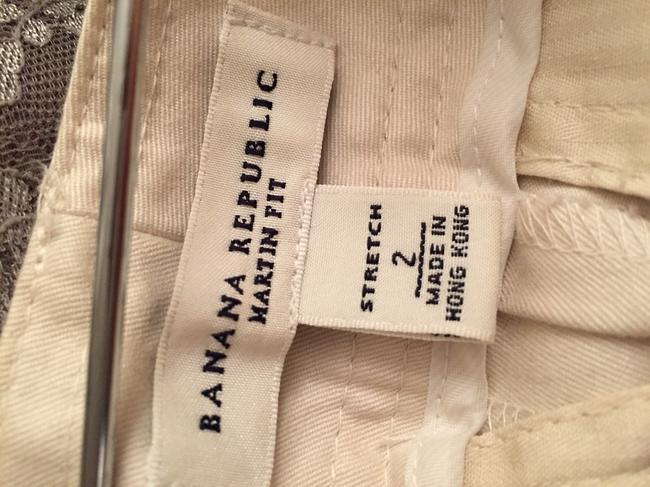 Banana Republic Wide Leg Pants Off White