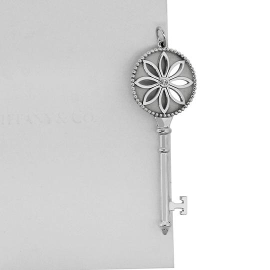 Tiffany & Co. Tiffany & Co. Sterling Silver Daisy Key Pendant Image 6