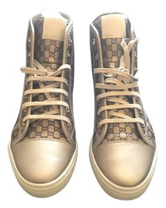 Gucci Brown and gold Athletic