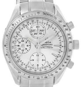 Omega Omega Speedmaster Day Date Chronograph Mens Watch 3523.30.00 Box Card