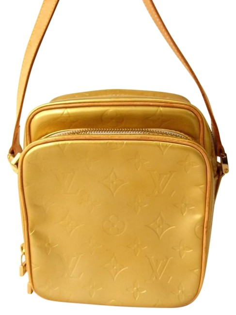 Item - Wooster Vernis Yellow Leather Cross Body Bag