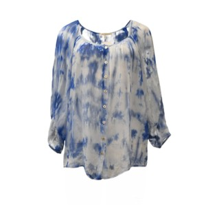 Red Haute Top Blue