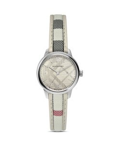 Burberry NIB AUTHENTIC BURBERRY WOMENS CHECK STRAP WATCH 32MM $545