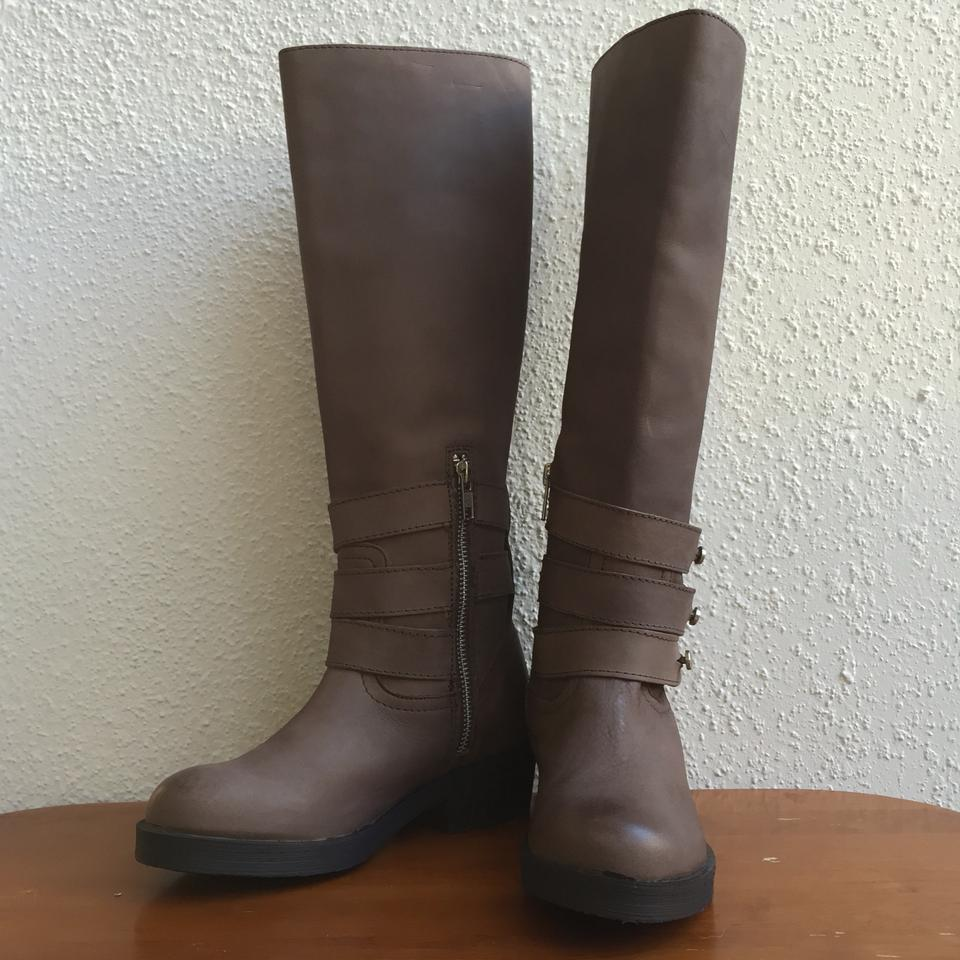 39cf513aa4c Steve Madden Brown 'nanett' Belted Knee High Distressed Riding  Boots/Booties Size US 5.5 Regular (M, B) 57% off retail