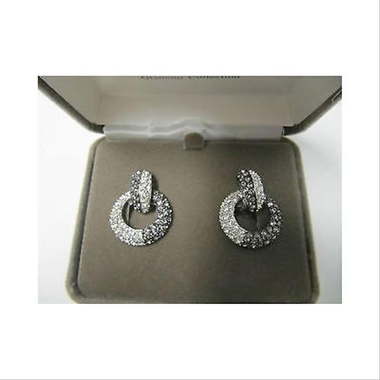 Nolan Miller The Nolan Miller Glamour Collection Clip On Hoop Earrings Crystal