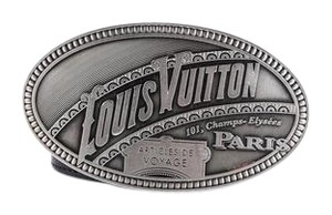 Louis Vuitton * Louis Vuitton Articles De Voyage Belt Black