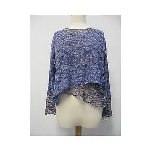 Brenda Serper Purple Multi Sweater