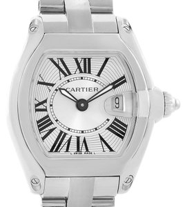 Cartier Cartier Roadster Small Silver Dial Steel Womens Watch W62016V3