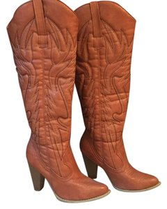 Alloy Apparel reddish brown Boots