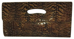Hobo International Multi - black, brown, tan, gold Clutch