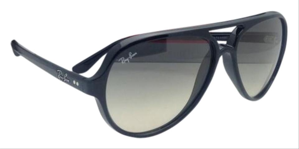 8815c862318 Ray-Ban Rb 4125 Cats 5000 601 32 59-13 Black W Grey Gradient Lens ...