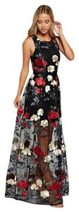 The Clothing Company Lace Embroidered Maxi Party Floral Dress