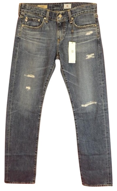 Item - Blue Light Wash Tomboy Straight Relaxed Fit Jeans Size 26 (2, XS)