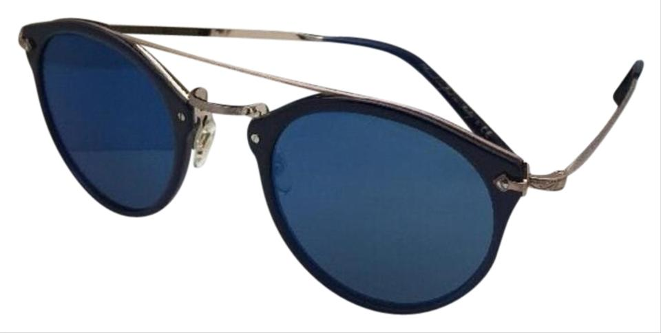 e3e5dbb8dd Oliver Peoples OLIVER PEOPLES Sunglasses REMICK OV 5349S 156696 Blue   Gold  w  Mirror Image ...