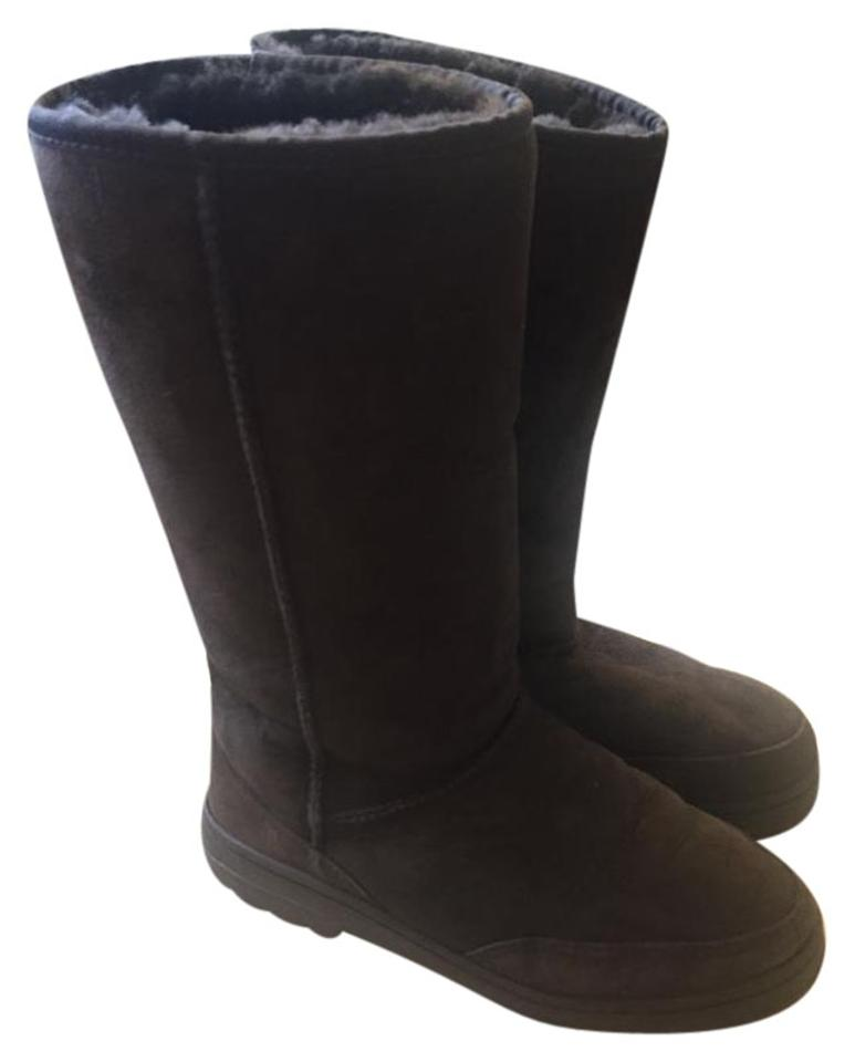 000b473285f UGG Australia Chocolate Ultra Tall Women's - Made In New Zealand  Boots/Booties Size US 8 Regular (M, B)