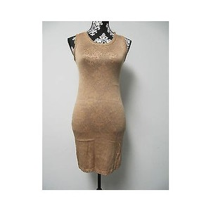 DKNY short dress Oranges Womens Peach Gold Knit on Tradesy