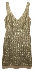 Bisou Bisou Sequin Party Nye Mini Holiday Dress