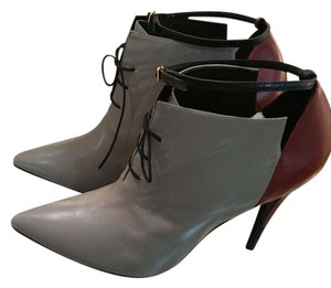 Pierre Hardy Leather Grey Boots