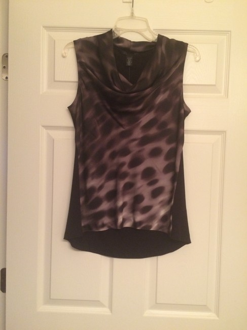 Kenneth Cole Top Grey and black
