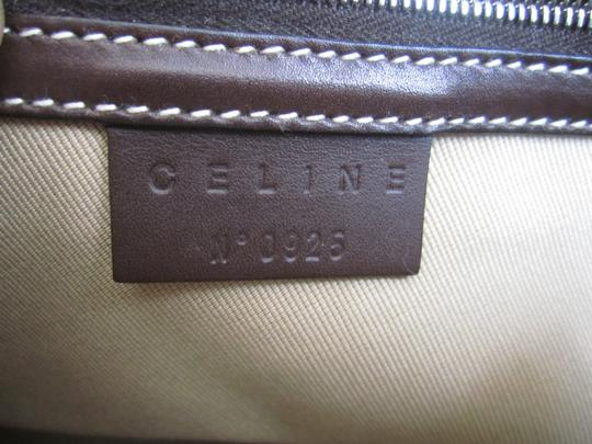 Céline Eurodyssey Coin Pochette Limited Edition Satchel in mocha brown