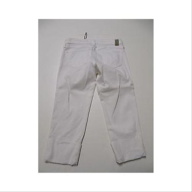 AG Adriano Goldschmied The Shorty White Capri Cropped Pants 27 Capri/Cropped Denim