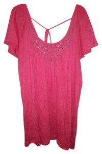 French Laundry Top Pink/coral